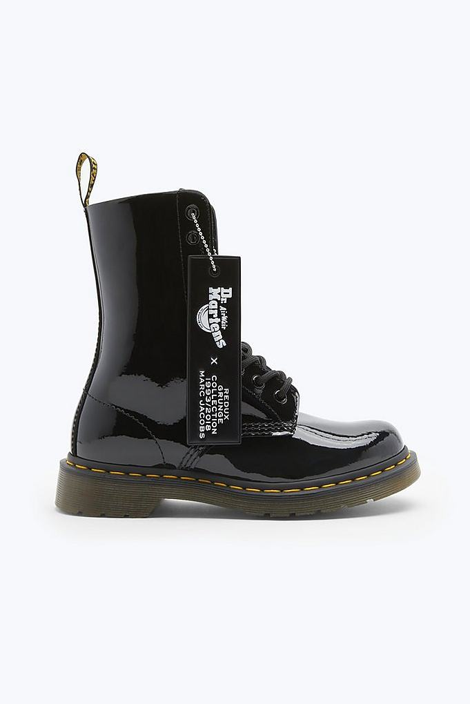 Dr Jacobs X Boot Marc Martens Leather Patent TO6qBTF