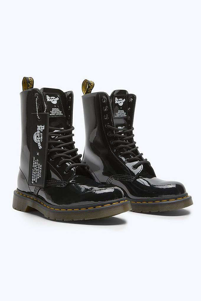 Marc Jacobs Boots Dr. Martens x Marc Jacobs Patent Leather Boot