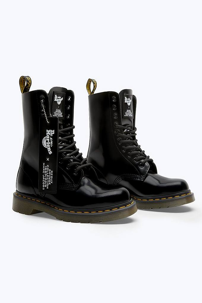 0f133cfa850 Dr. Martens x Marc Jacobs Leather Boot