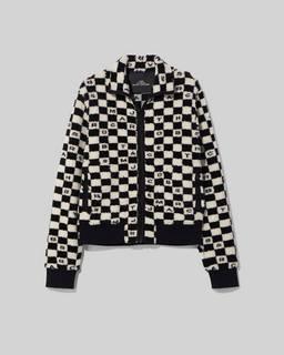 마크 바이 마크 제이콥스 플리스 자켓 Marc By Marc Jacobs The Fleece,Black/White
