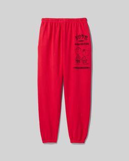 마크 제이콥스 X 피너츠 캡슐 컬렉션 '라이너스와 샐리' 스웻팬츠 Marc Jacobs x Peanuts The Gym Pant,Red