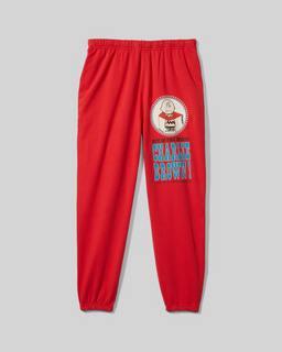 마크 제이콥스 피너츠 x  마크 제이콥스 바지 Marc Jacobs Peanuts x Marc Jacobs The Gym Pant,Washed Red