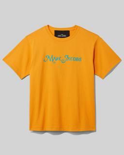 마크 제이콥스 Marc Jacobs The Logo T-Shirt,Orange