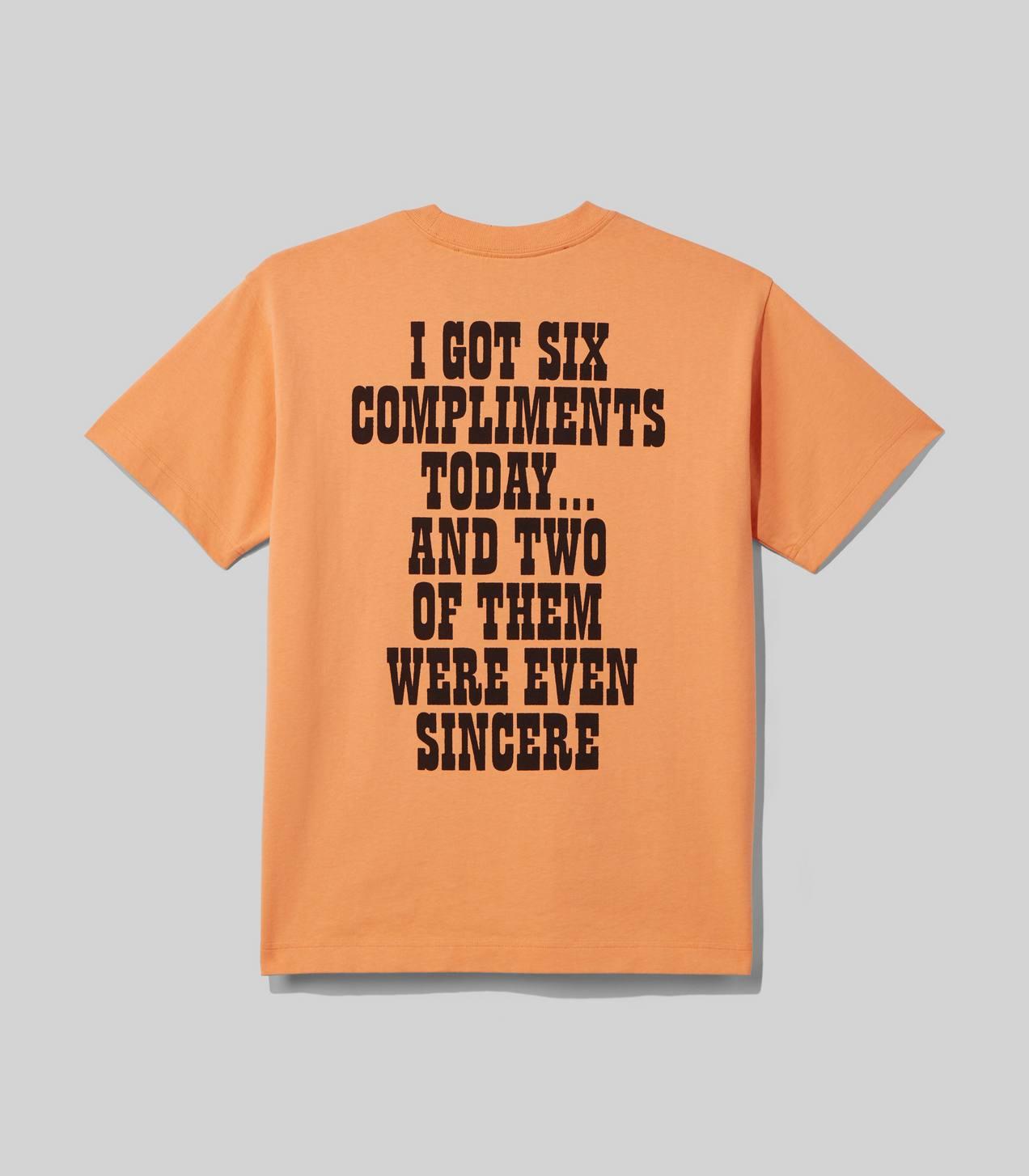 Orange Tek Gear Win T-Shirt Tee Boys Medium 10-12 Boys Lets Win