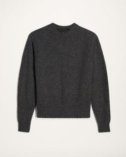 Irregular Stitch Crewneck Sweater