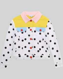 마크 제이콥스 키즈 폴카도트 자켓 Marc Jacobs The Color Block Polka Dot Jacket,WHITE BLACK