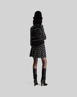 Nylon Biker Backpack--Alternate view
