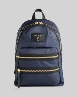 마크 제이콥스 Marc Jacobs Nylon Biker Backpack,Midnight Blue