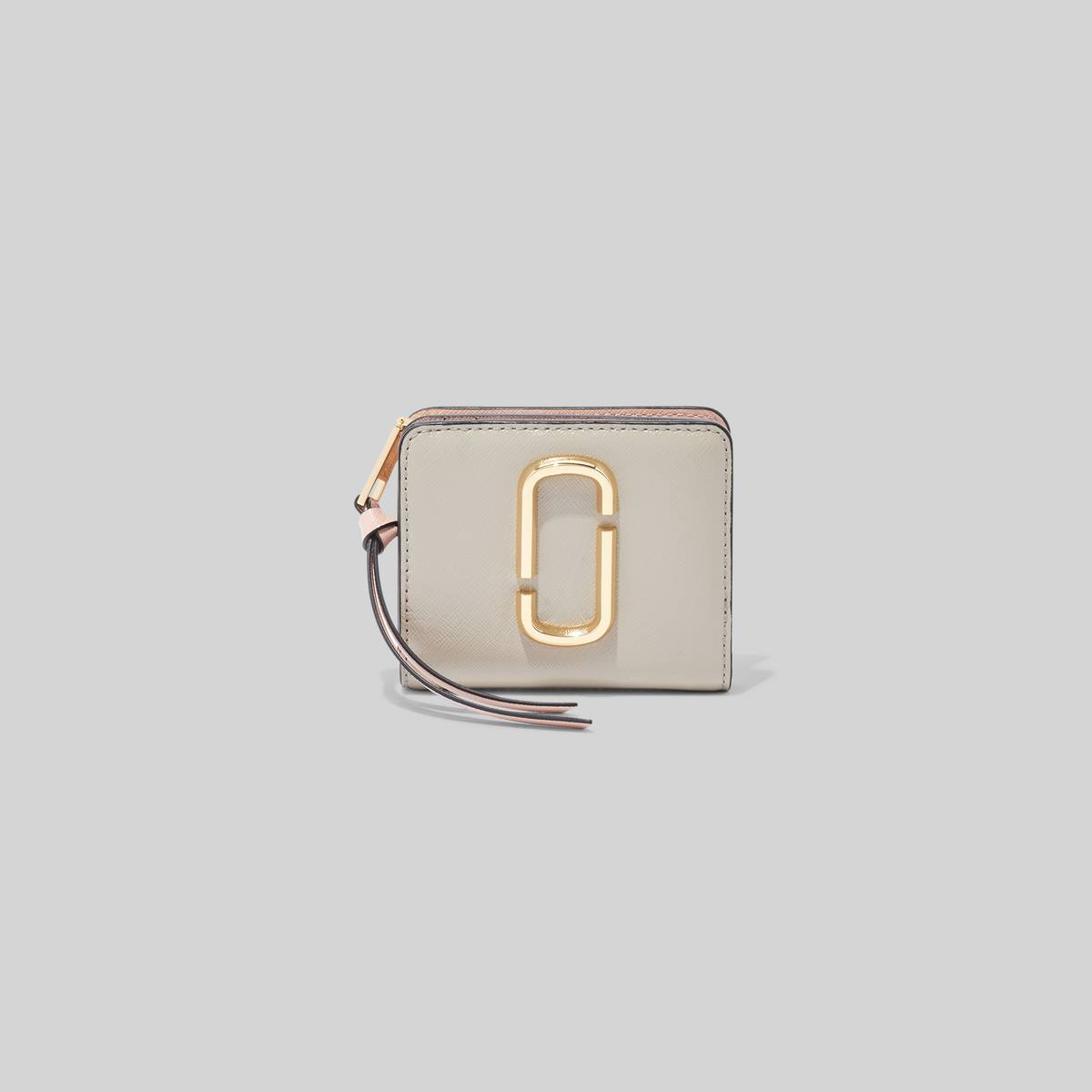Deceptively roomy and obviously cute, the Snapshot Compact Wallet ensures all your daily must-haves are organized. | MARC JACOBS Women\\'s The Snapshot Mini Compact Wallet in Dust Multi