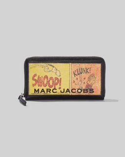 마크 제이콥스 Marc Jacobs Peanuts x 마크 제이콥스 Marc Jacobs The Standard Continental Wallet,MULTI