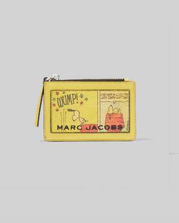 마크 제이콥스 Marc Jacobs Peanuts x 마크 제이콥스 Marc Jacobs The Box Top-Zip Multi Wallet,MULTI