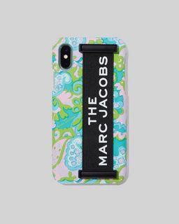 마크 제이콥스 Marc Jacobs The Elastic Handheld iPhone XS Case,PINK MULTI