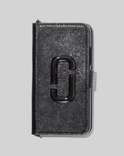 마크 제이콥스 Marc Jacobs The Chain Strap DTM iPhone 11 Pro Bookcase,BLACK