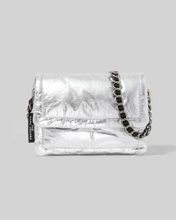 The Metallic Pillow Bag