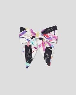 The Hair Bow Logo Print