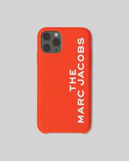 마크 제이콥스 Marc Jacobs The Silicone iPhone 11 Pro Case,BRIGHT RED