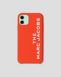 마크 제이콥스 Marc Jacobs The Silicone iPhone 11 Case,BRIGHT RED