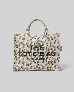 마크 제이콥스 X 피너츠 토트백 스몰 Marc Jacobs X Peanuts The Small Tote Bag,WHITE MULTI