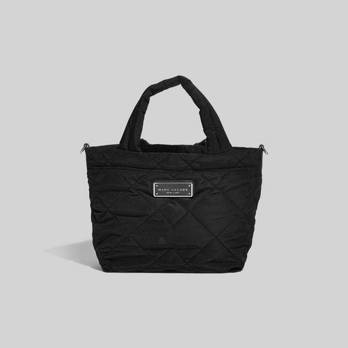 Quilted Nylon Mini Tote