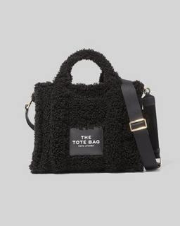 마크 제이콥스 Marc Jacobs The Teddy Small Traveler Tote Bag,BLACK