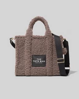 마크 제이콥스 Marc Jacobs The Teddy Small Traveler Tote Bag,GREY