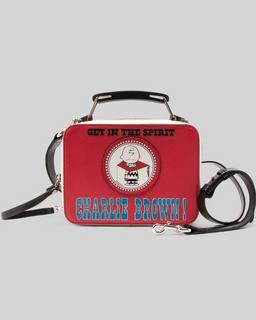 마크 제이콥스 X 피너츠 미니 박스백 Marc Jacobs Peanuts x Marc Jacobs The Mini Box Bag,RED MULTI