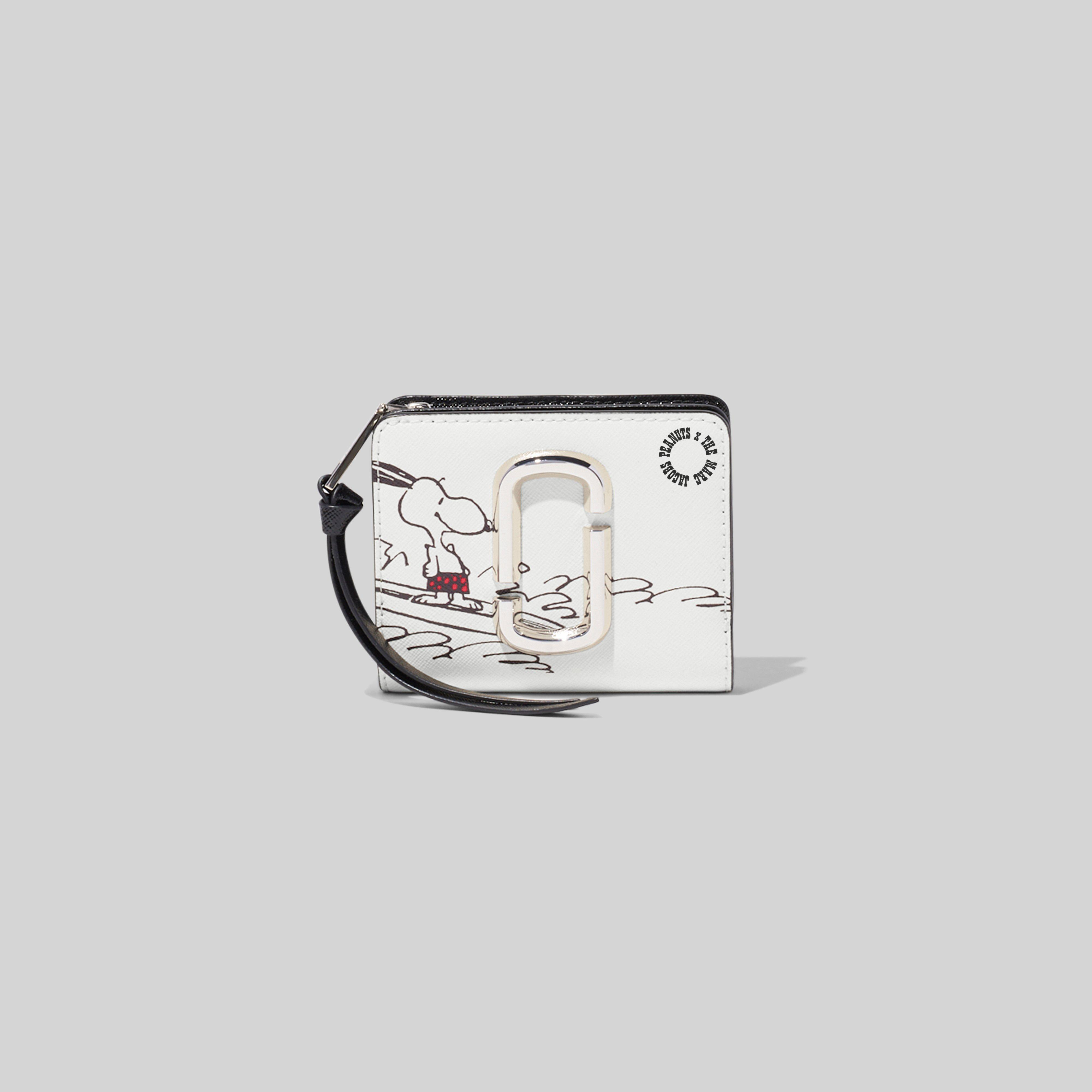 MARC JACOBS Peanuts x Marc Jacobs The Snapshot Mini Compact Wallet