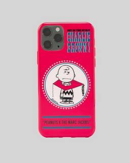 마크 제이콥스 X 피너츠 찰리 브라운 아이폰11 프로 맥스 케이스 Marc Jacobs X Peanuts The iPhone 11 Pro Max Case,RED MULTI