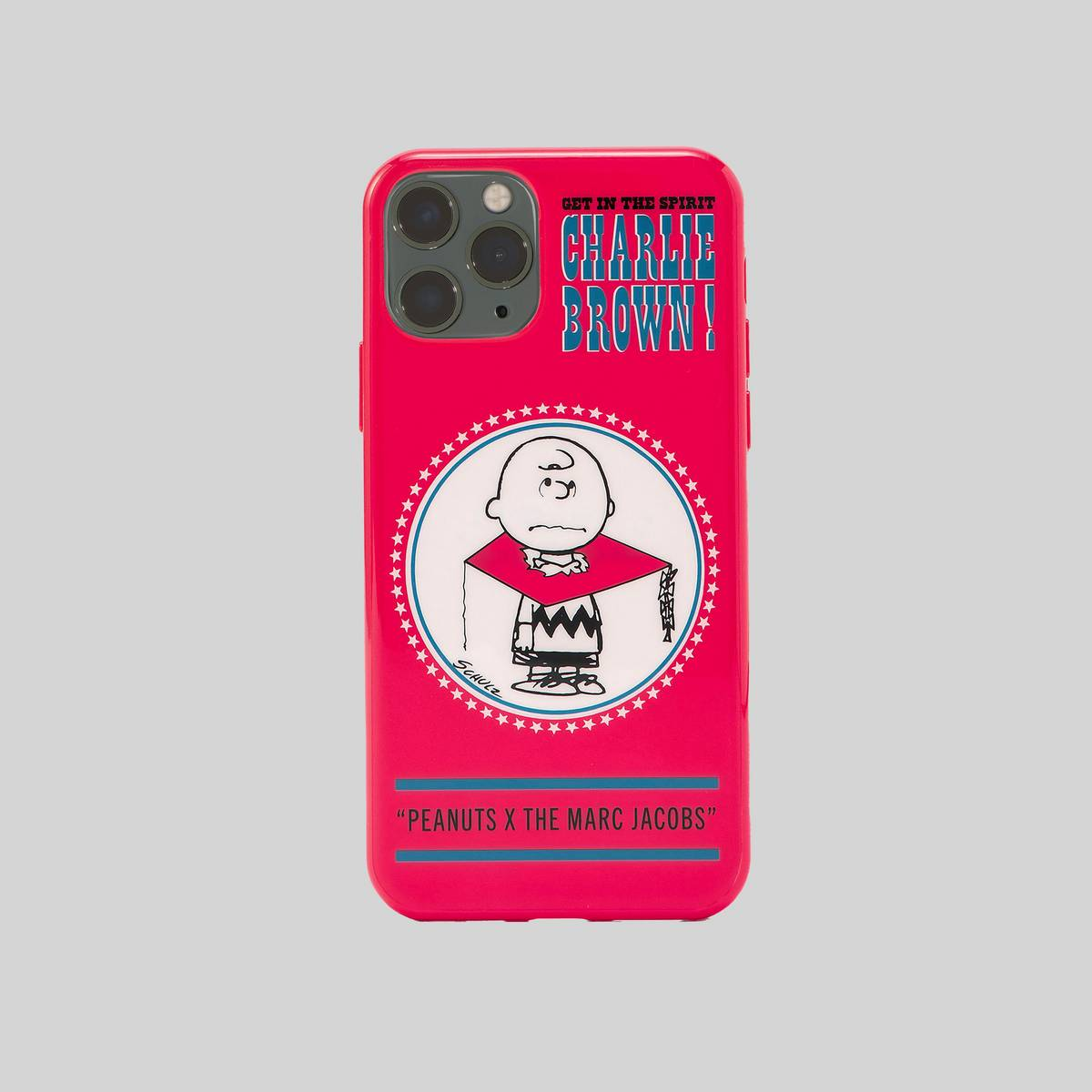 Polyurethane case featuring our favorite Peanuts characters. | MARC JACOBS Women\\'s Peanuts x The iPhone 11 Pro Max Case in Red Multi
