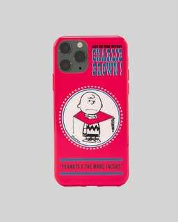 마크 제이콥스 X 피너츠 찰리브라운 아이폰 11 프로 케이스 Marc Jacobs X Peanuts The iPhone 11 Pro Case,RED MULTI