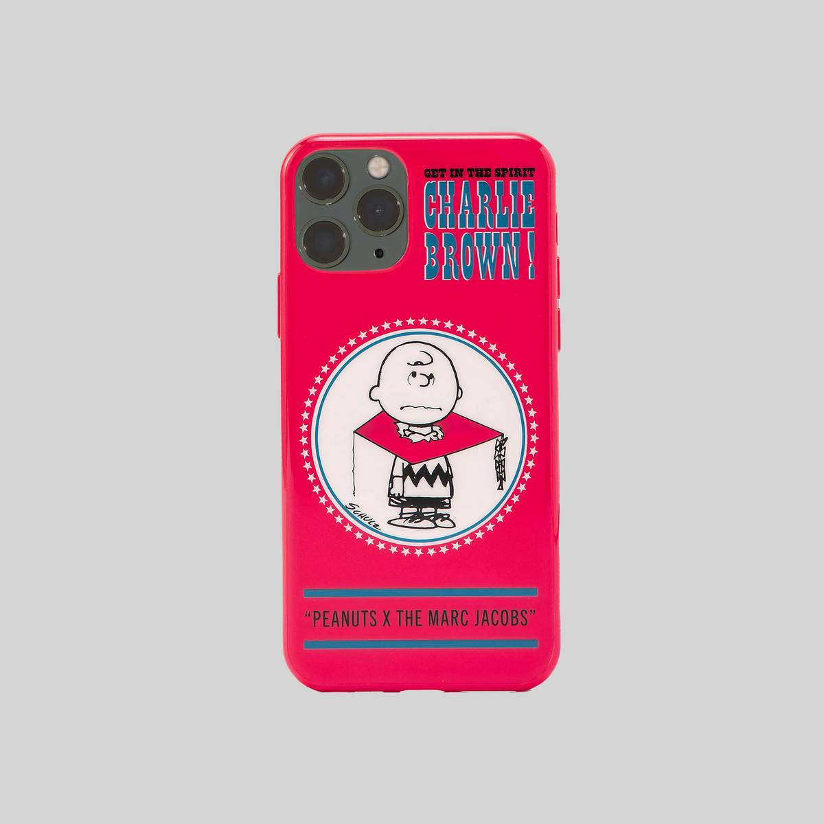 Polyurethane case featuring our favorite Peanuts characters. | MARC JACOBS Women\\'s Peanuts x The iPhone 11 Pro Case in Red Multi