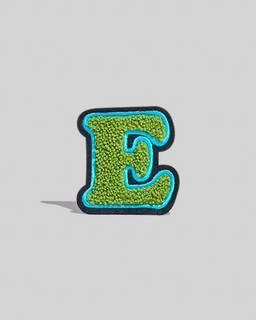 마크 제이콥스 알파벳 레터 패치 그린 E Marc Jacobs The Letter Patch,GREEN-E
