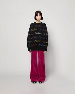 New York Magazine® X Marc Jacobs The Logo Sweater--Alternate view