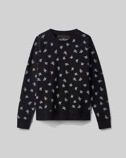 마크 바이 마크 제이콥스 로고 맨투맨 스웻셔츠 Marc By Marc Jacobs New York Magazine X Marc Jacobs The Logo Sweatshirt,BLACK