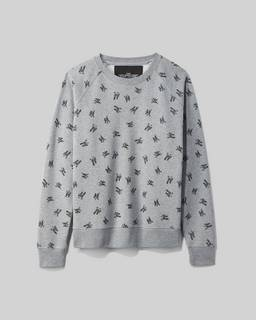 마크 바이 마크 제이콥스 로고 맨투맨 스웻셔츠 Marc By Marc Jacobs New York Magazine X Marc Jacobs The Logo Sweatshirt,GREY MELANGE
