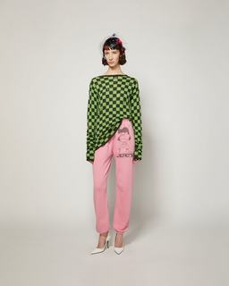 The Checkered Sweater--Alternate view