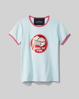 마크 제이콥스 Marc Jacobs The Ringer T-Shirt,LIGHT BLUE