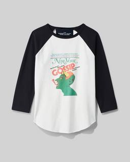 마크 제이콥스 x 뉴욕 매거진 티셔츠 Marc Jacobs New York Magazine X Marc Jacobs The Baseball T-shirt,WHITE