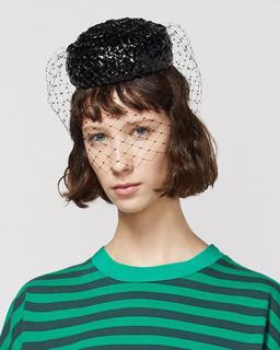 Stephen Jones x Marc Jacobs The Pillbox Hat--Alternate view