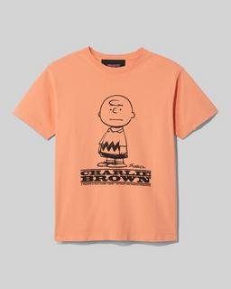 마크 제이콥스 X 피너츠 '찰리 브라운' 티셔츠 - 오렌지 Marc Jacobs x Peanuts The T-Shirt