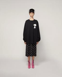 Peanuts® x Marc Jacobs The Long-Sleeve T-Shirt With Snoopy--Alternate view