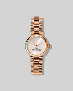 마크 제이콥스 Marc Jacobs The Round Watch,ROSE GOLD