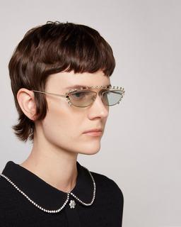 The Strass Cat Eye Sunglasses--Alternate view