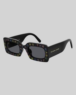 The Logo Rectangle Sunglasses