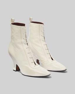 마크 제이콥스 Marc Jacobs The Victorian Boot,OFF WHITE