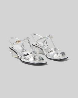마크 제이콥스 Marc Jacobs The Gem Sandal,SILVER