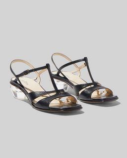 마크 제이콥스 Marc Jacobs The Gem Sandal,BLACK