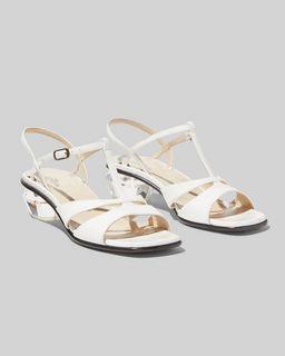 마크 제이콥스 Marc Jacobs The Gem Sandal,WHITE