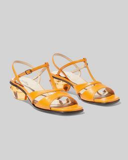 마크 제이콥스 Marc Jacobs The Gem Sandal,TANGERINE