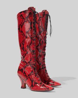 마크 제이콥스 Marc Jacobs The Tall Victorian Boot,RED